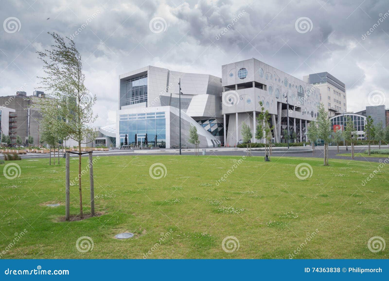 House Of Music Aalborg Denmark Stock Photo Image 74363838