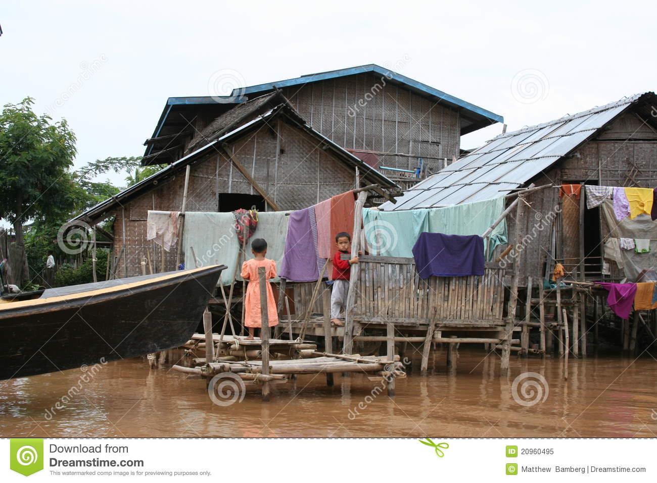 House In Myanmar Editorial Image Image 20960495