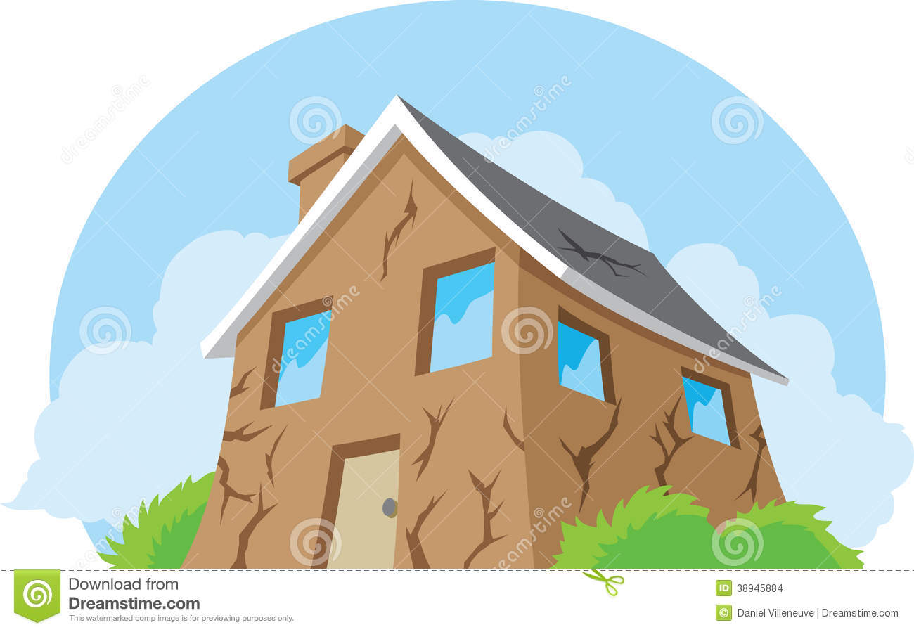 House in need of repair stock vector image 38945884 for Need a house