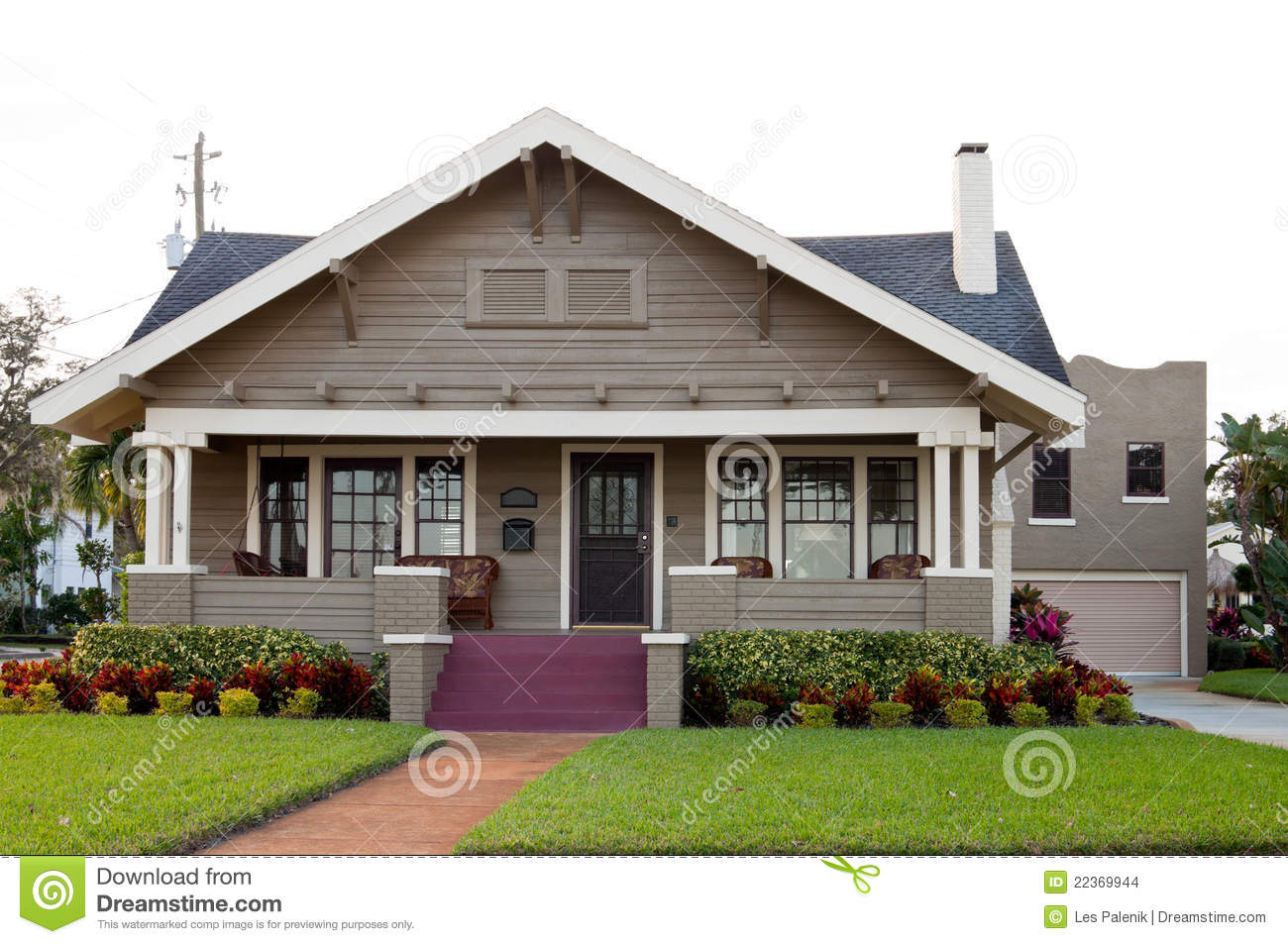 House with nice landscaping stock images image 22369944 for Nice home photos