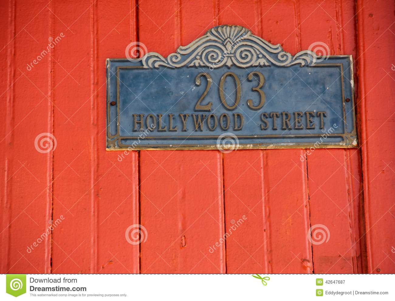 House Number Stock Photo Image 42647687