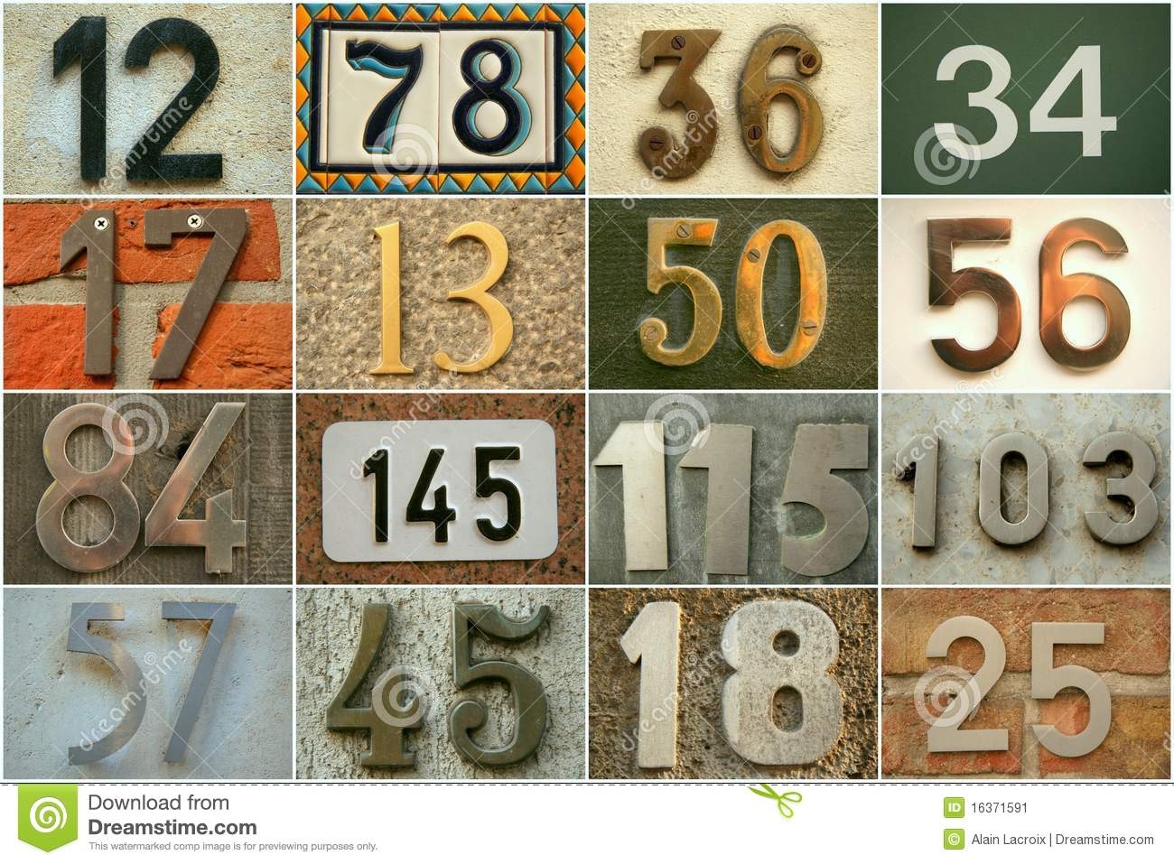 house numbers stock image  image of background  design