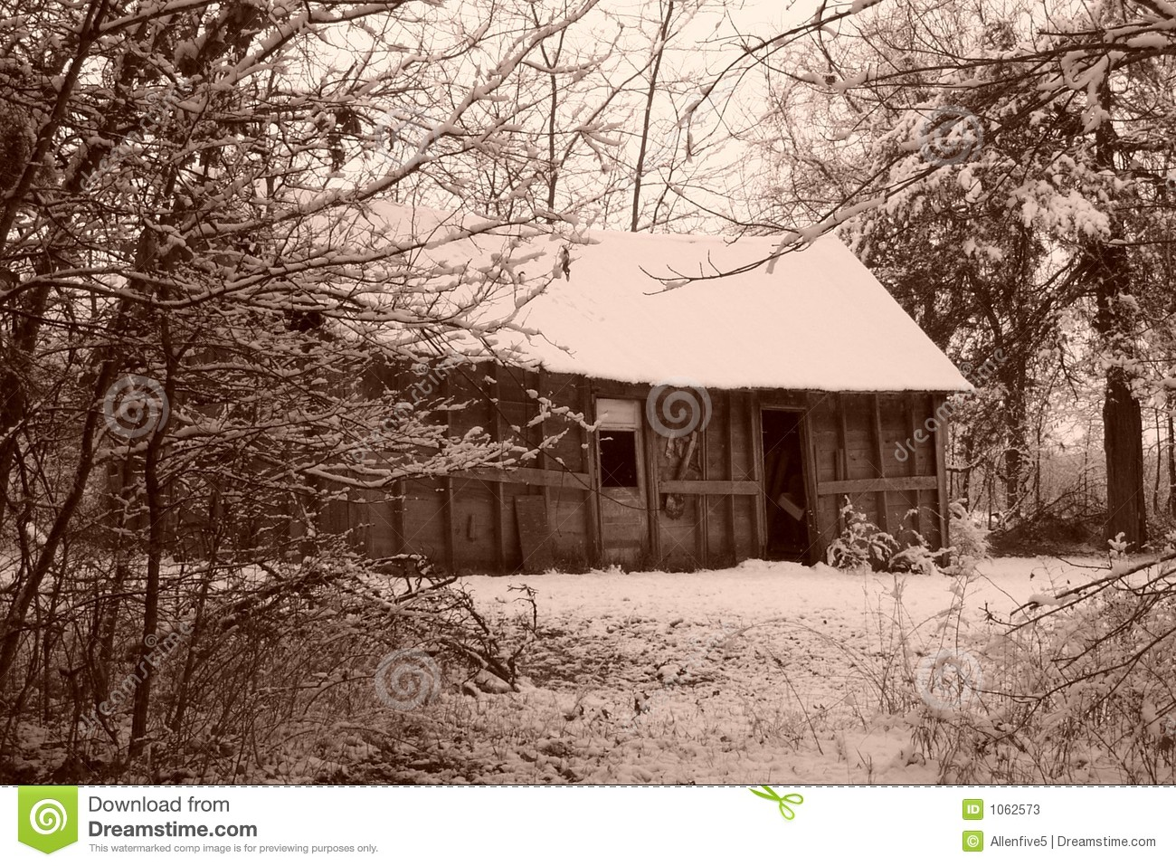 House old sepia