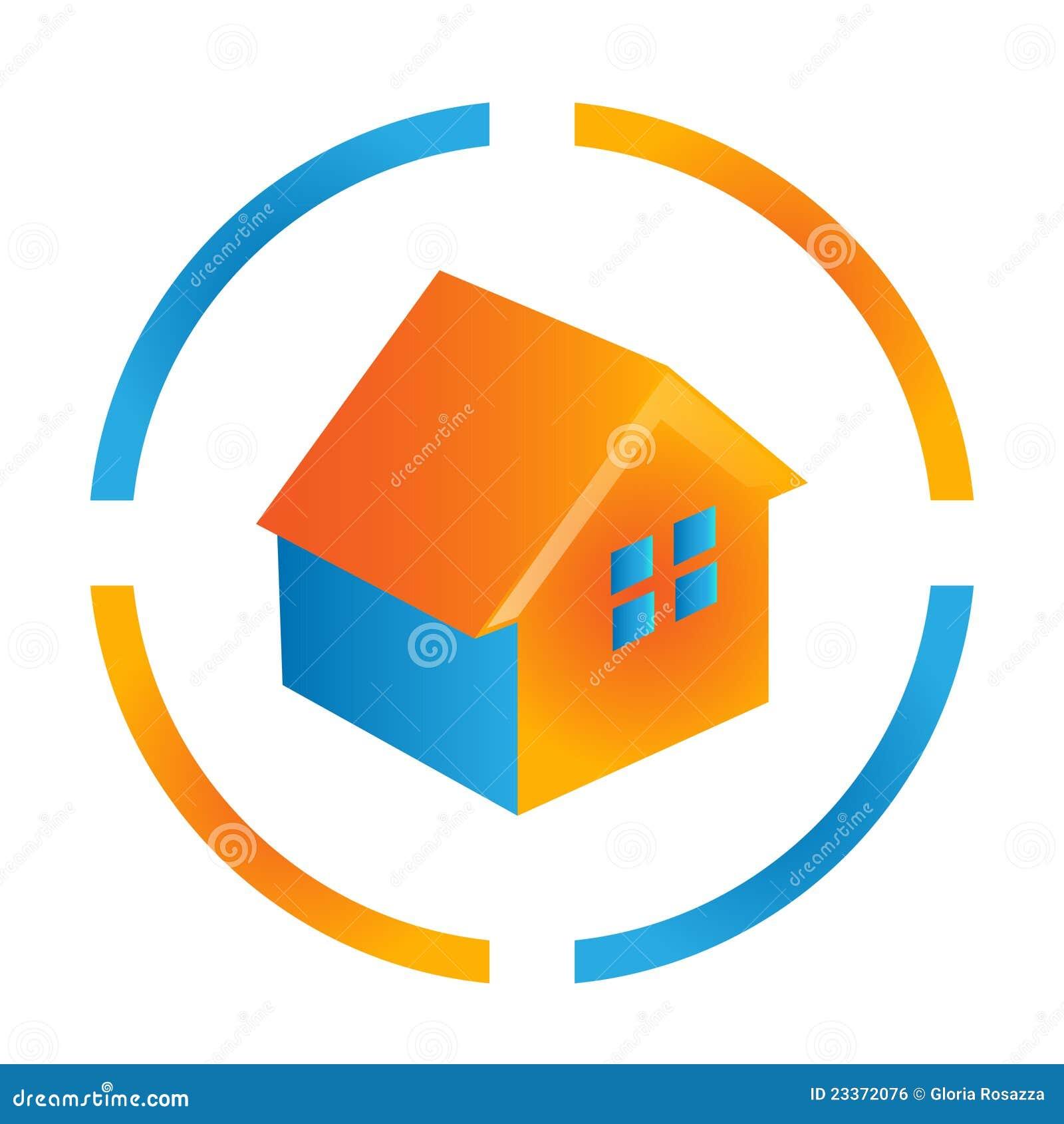 Blue and orange bird logo - photo#10