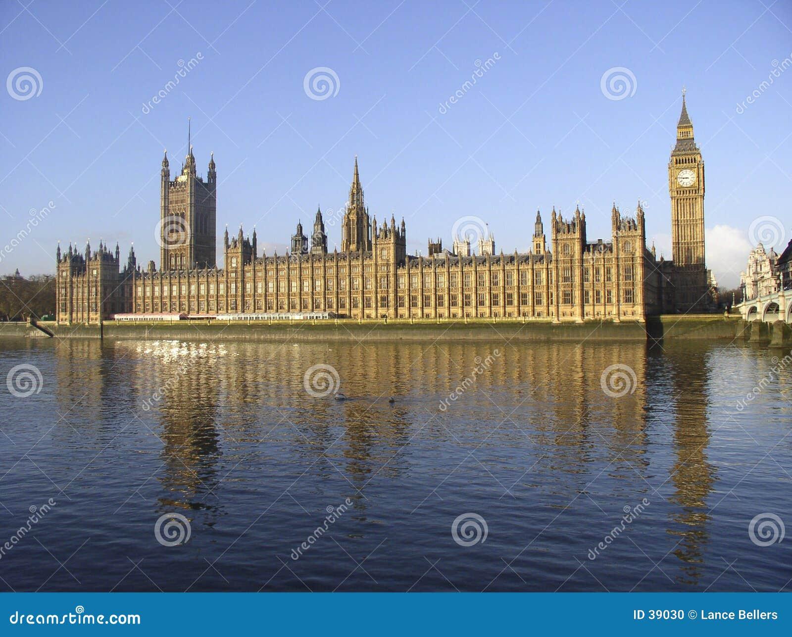 Download House parlamentu zdjęcie stock. Obraz złożonej z london - 39030