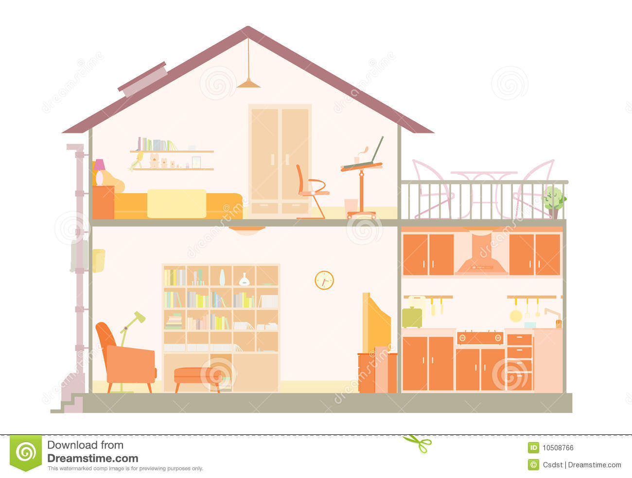 House plan royalty free stock image image 10508766 House layout plan