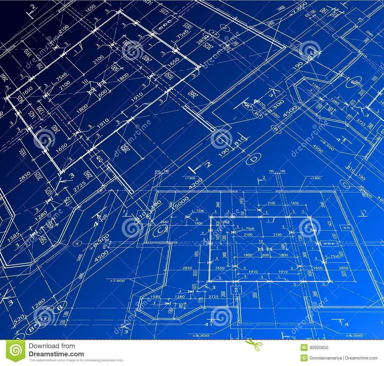 Stock Photo House Plan Vector Blueprint Background Art Illustration Image30920650 besides Luxury Villa Design Drawings further 9883438 also Stock Foto Huizen Op Het Plan Van De Architect Image2008830 as well Seaview Submarine And Aerosub. on 3d house blueprints