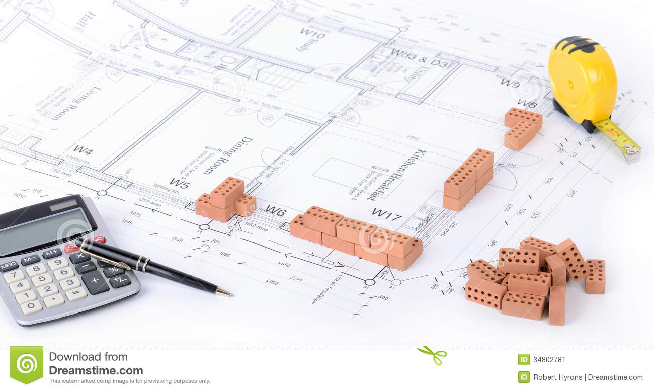 house planning stock image - House Planning