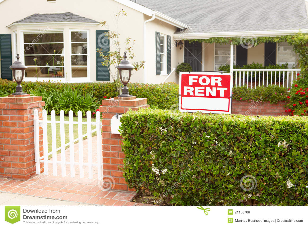House For Rent Royalty Free Stock Photos Image 21156708