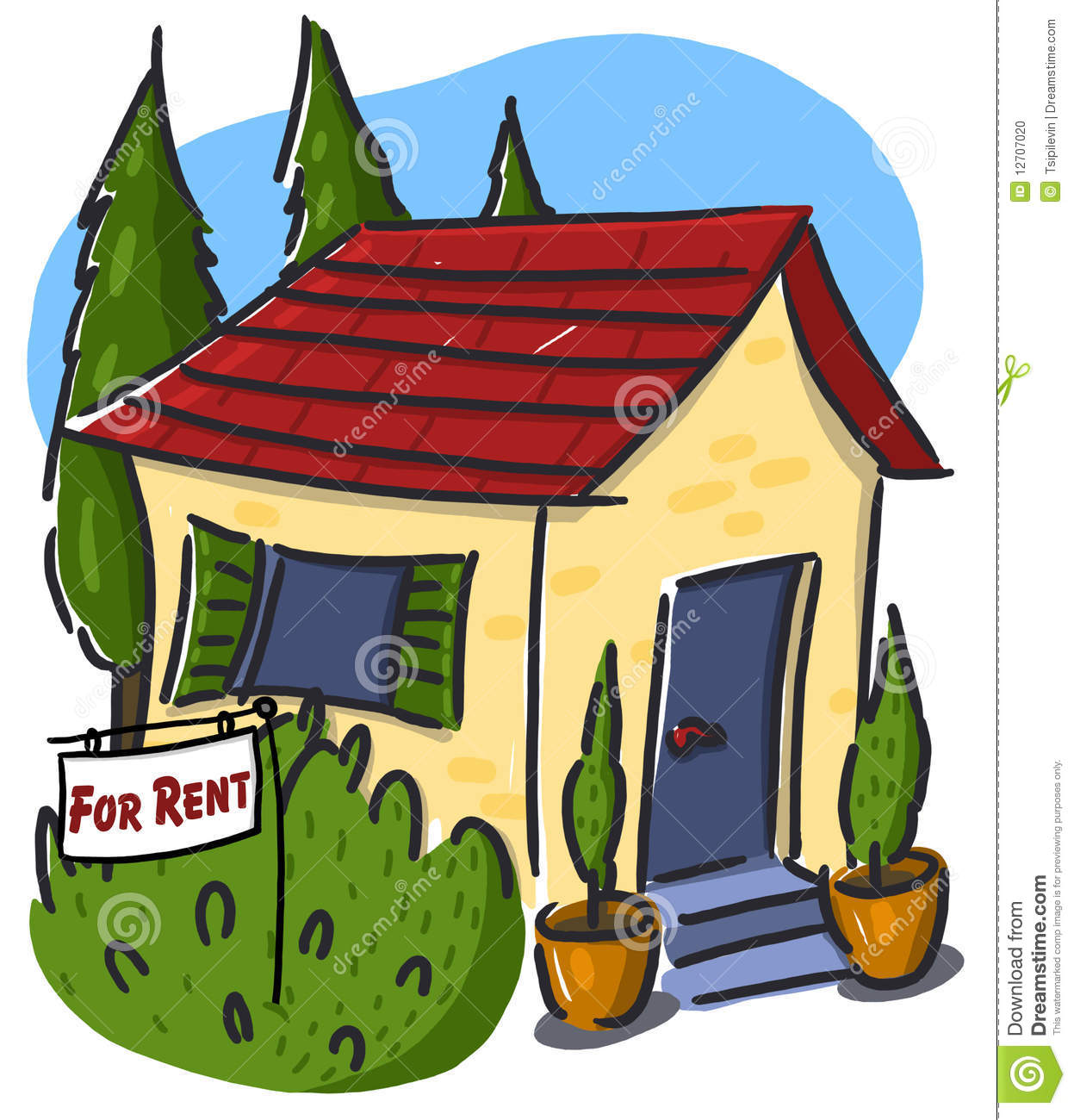 house for rent clipart - photo #14