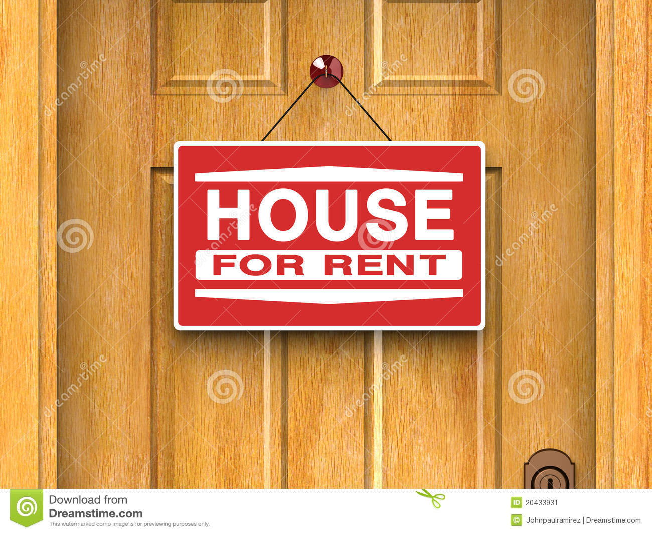 Advertisement House For Rent