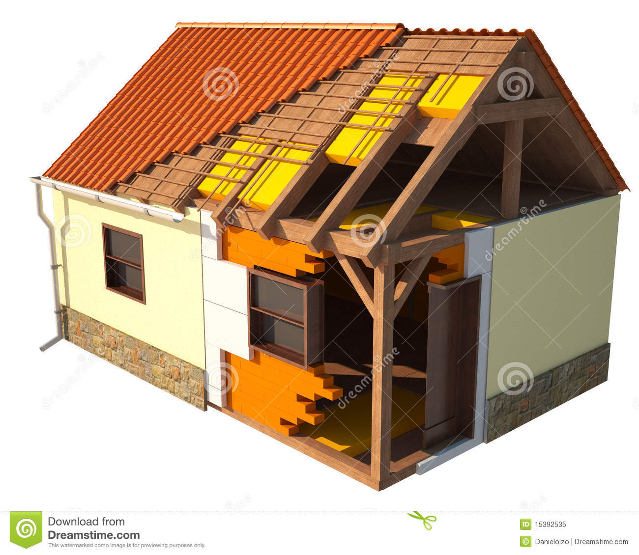 Fabulous House Repair Royalty Free Stock Photo Image 15392535 Largest Home Design Picture Inspirations Pitcheantrous