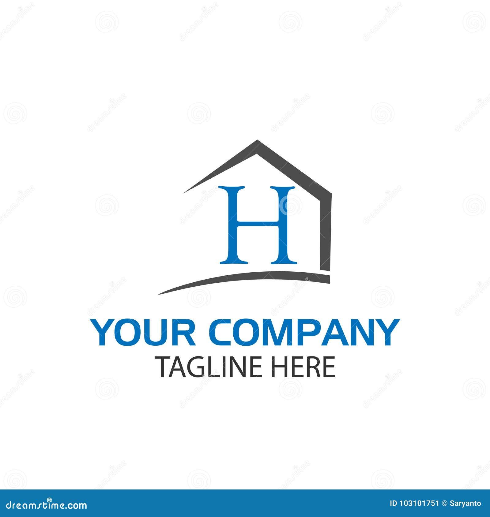 House resembling letter H