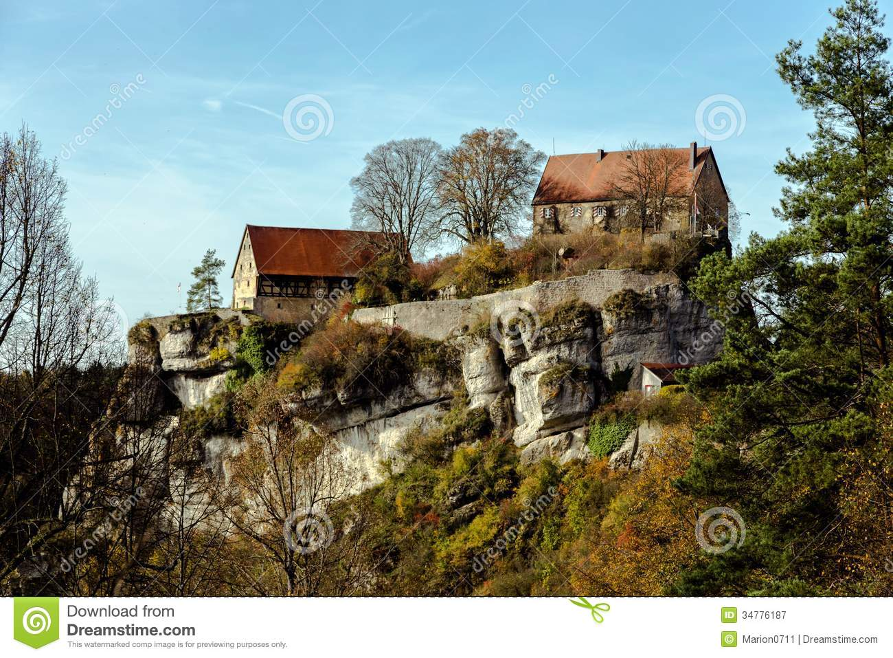 Royalty free stock photography house on the rock image for Cost to build a house in little rock