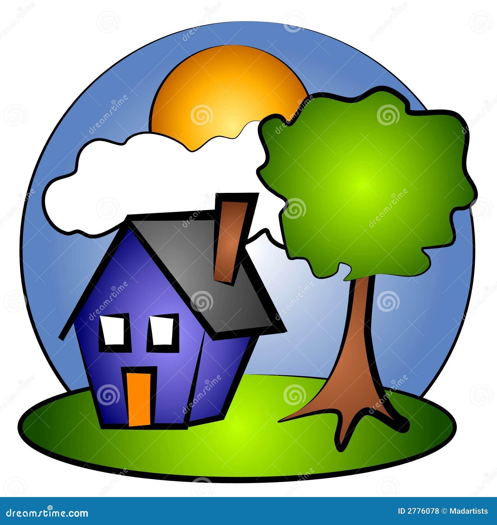 house rural scene clip art 2 stock illustration illustration of rh dreamstime com house clipart free download free clipart house