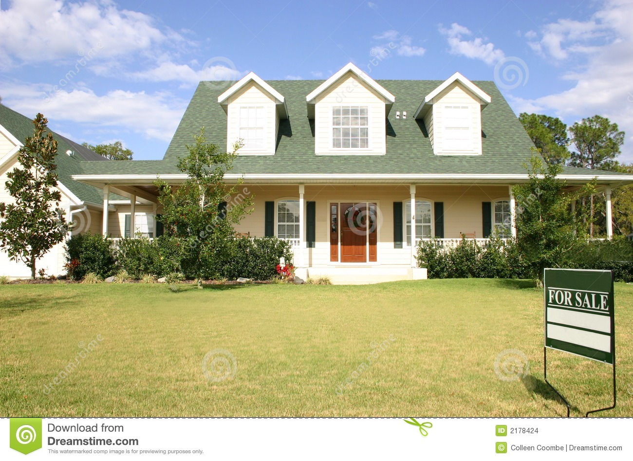 house for sale stock images image 2178424
