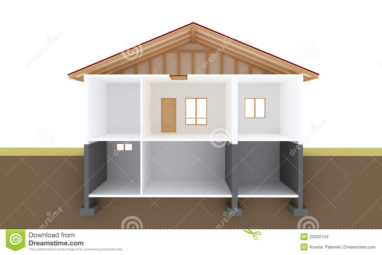 House Section Stock Images Image 22020154