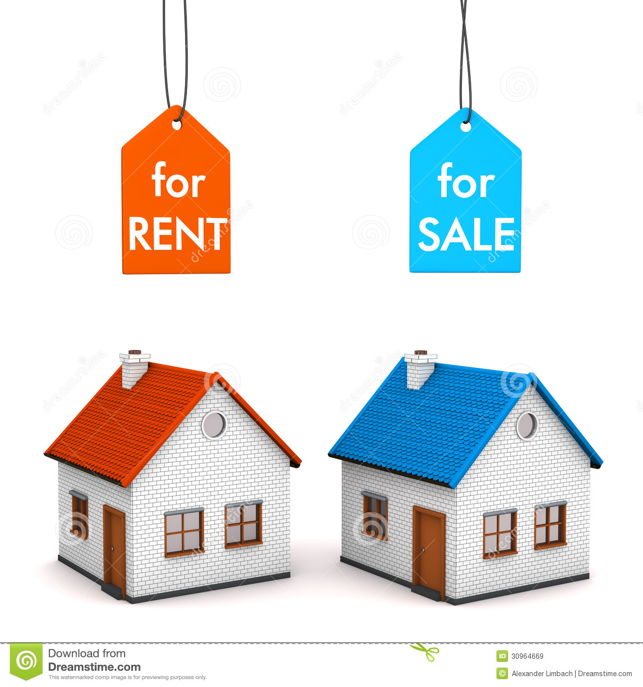 Www Rent Com: House Sell Rent Royalty Free Stock Images