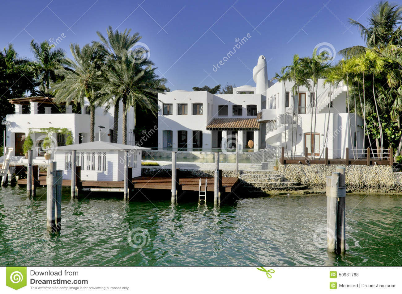 House in star island editorial stock photo image of for Star island miami houses
