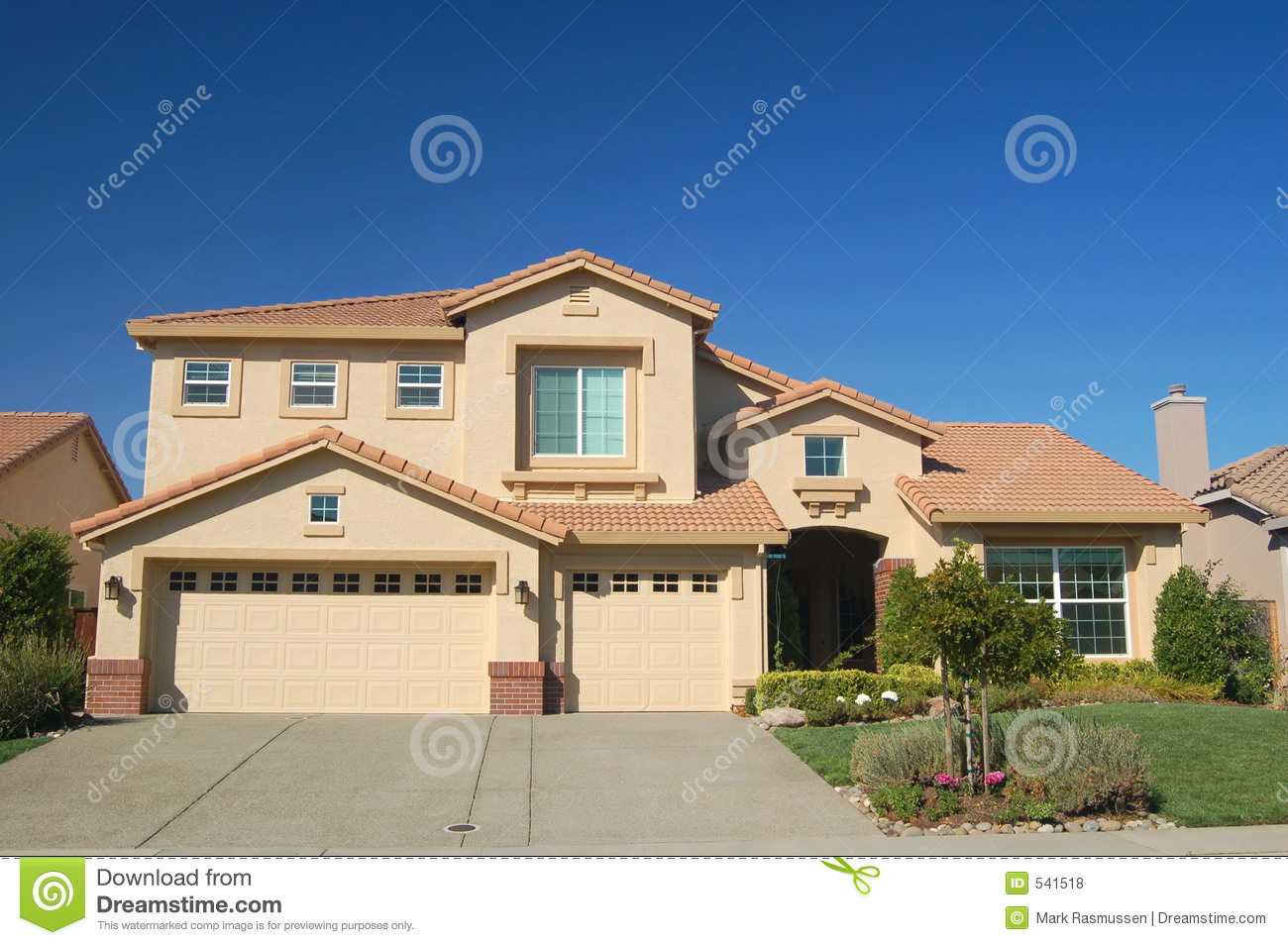 House in the suburbs royalty free stock photos image 541518 for Free house photos