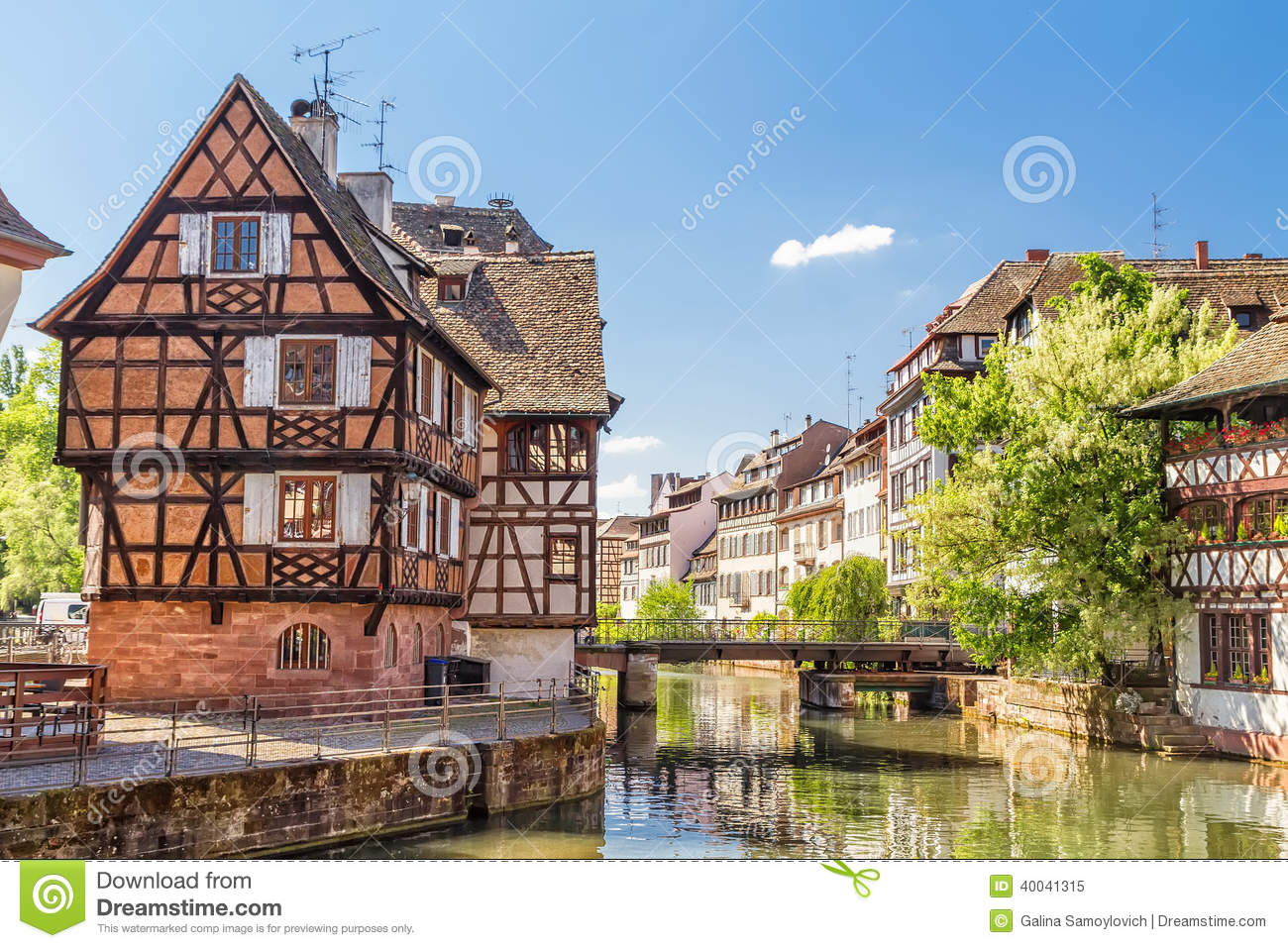 house tanners petite france district strasbourg stock photo image 40041315. Black Bedroom Furniture Sets. Home Design Ideas