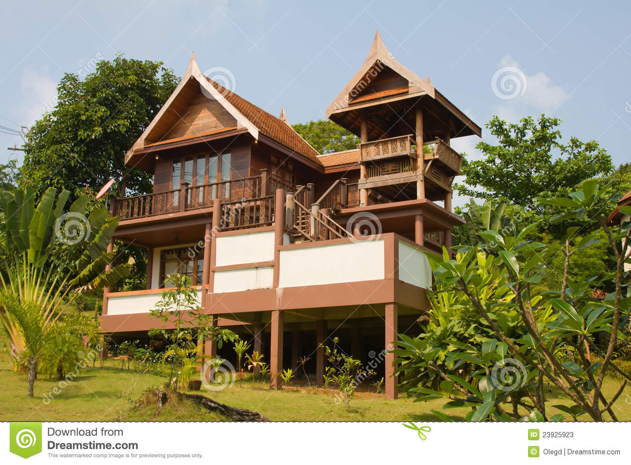 Thai house plans joy studio design gallery best design for Thai style house plans