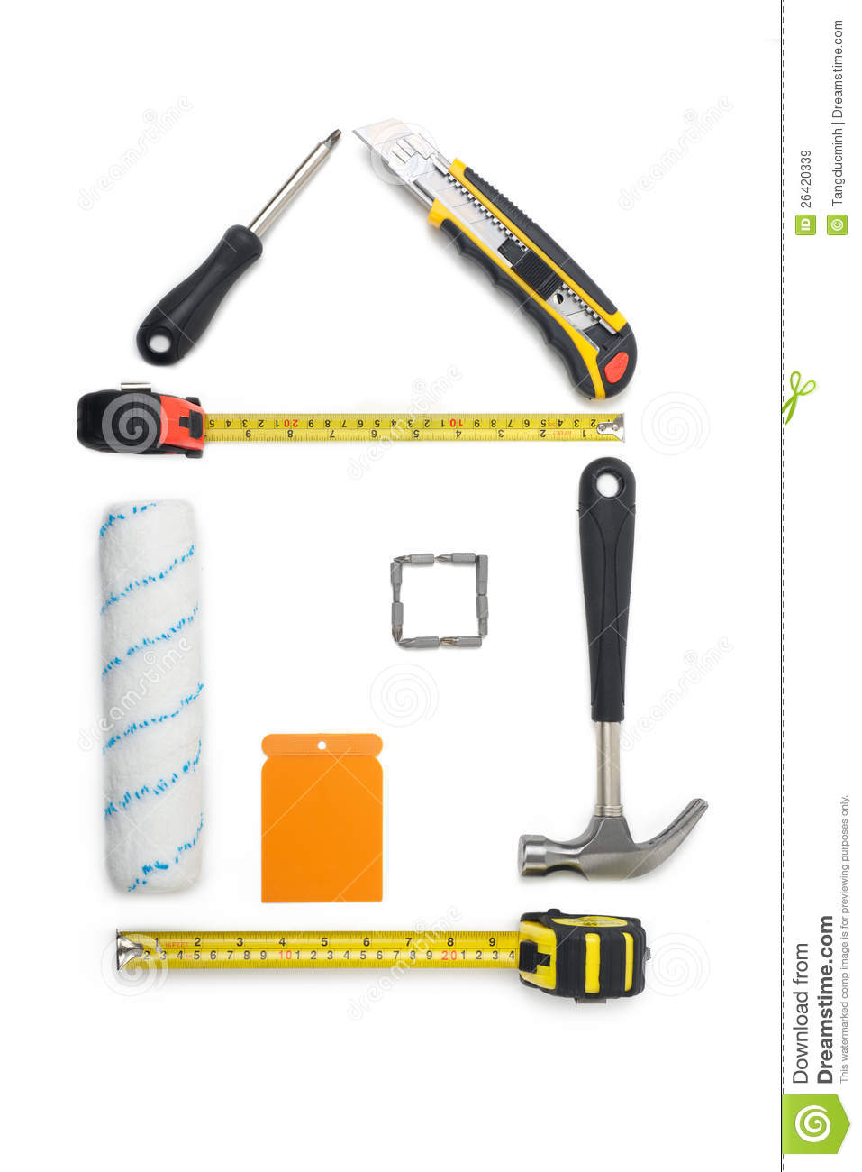 House tools royalty free stock images image 26420339 Tools to build a house