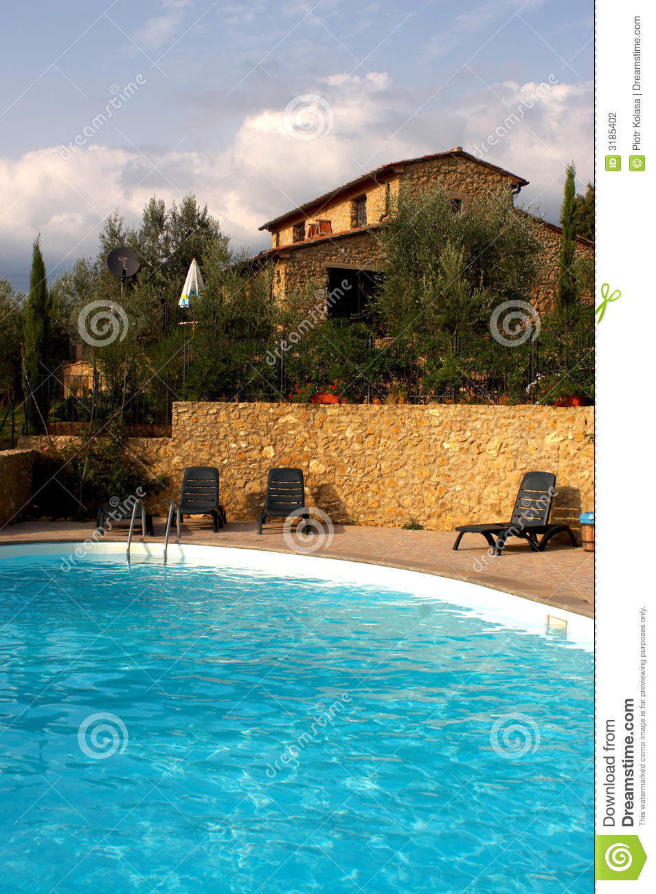 House In Toscana Stock Photography Image 3185402
