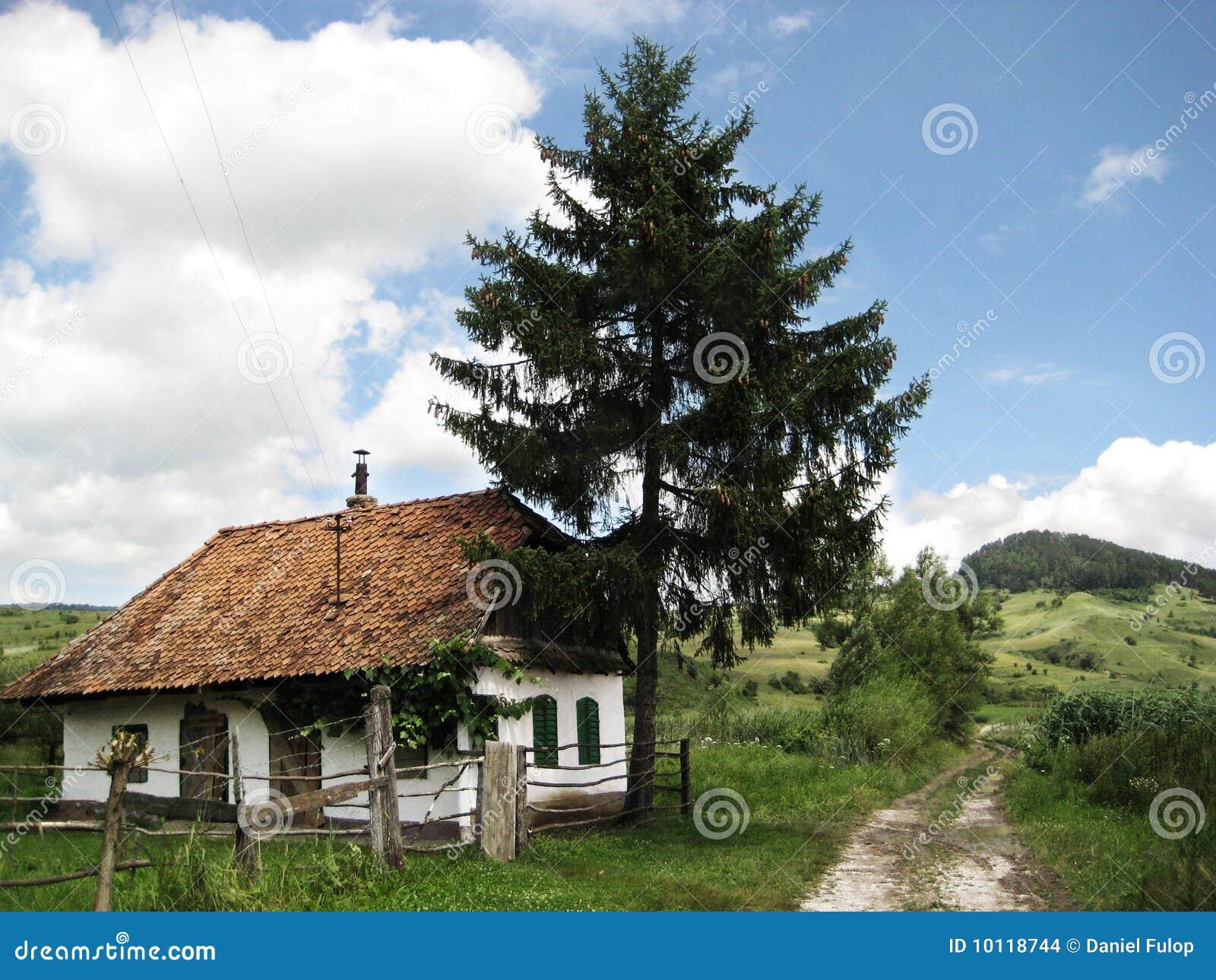 House in transylvania stock images image 10118744 - Saxon style houses in transylvania ...