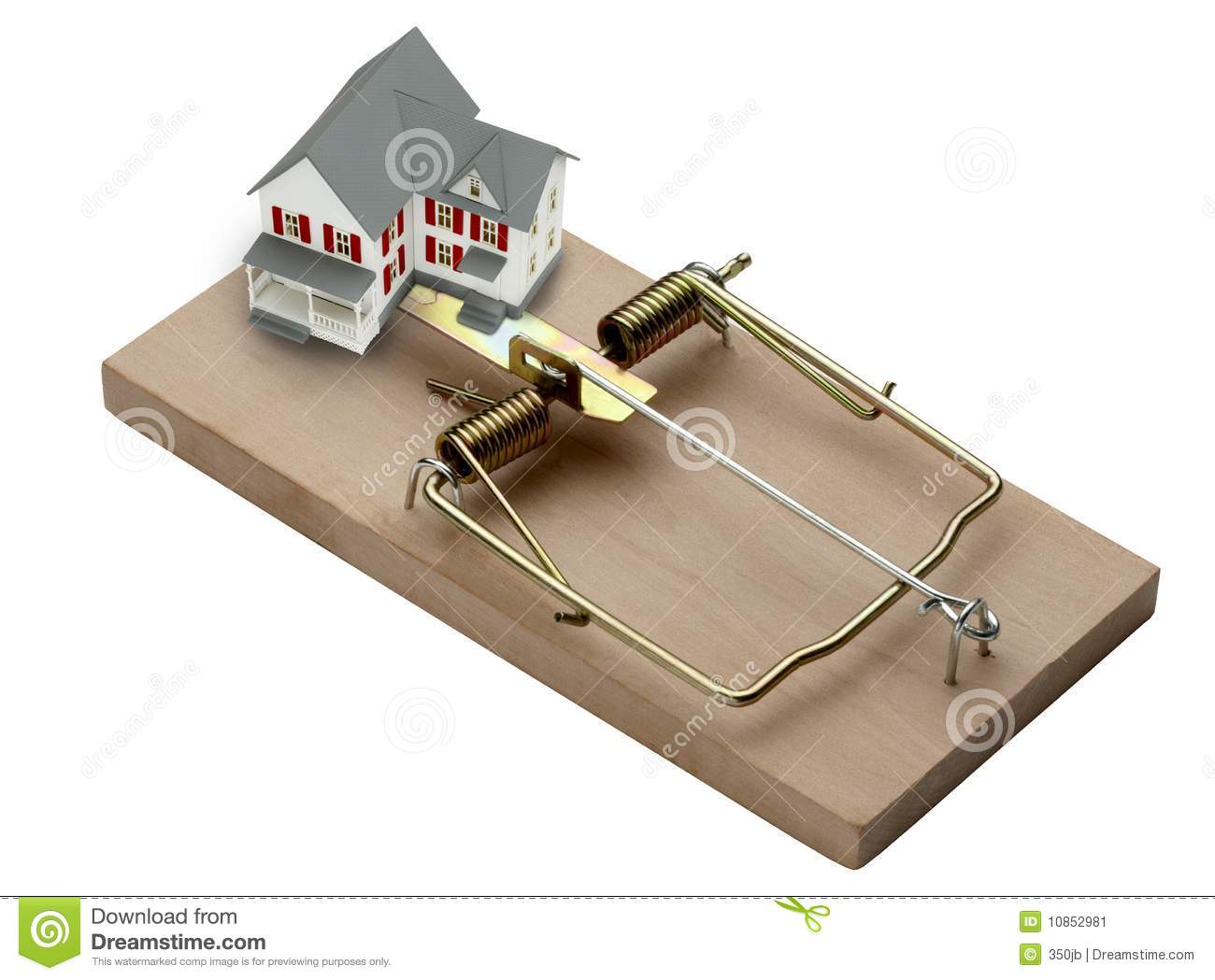 House trap stock image image of danger trap home white 10852981 download comp ccuart Images