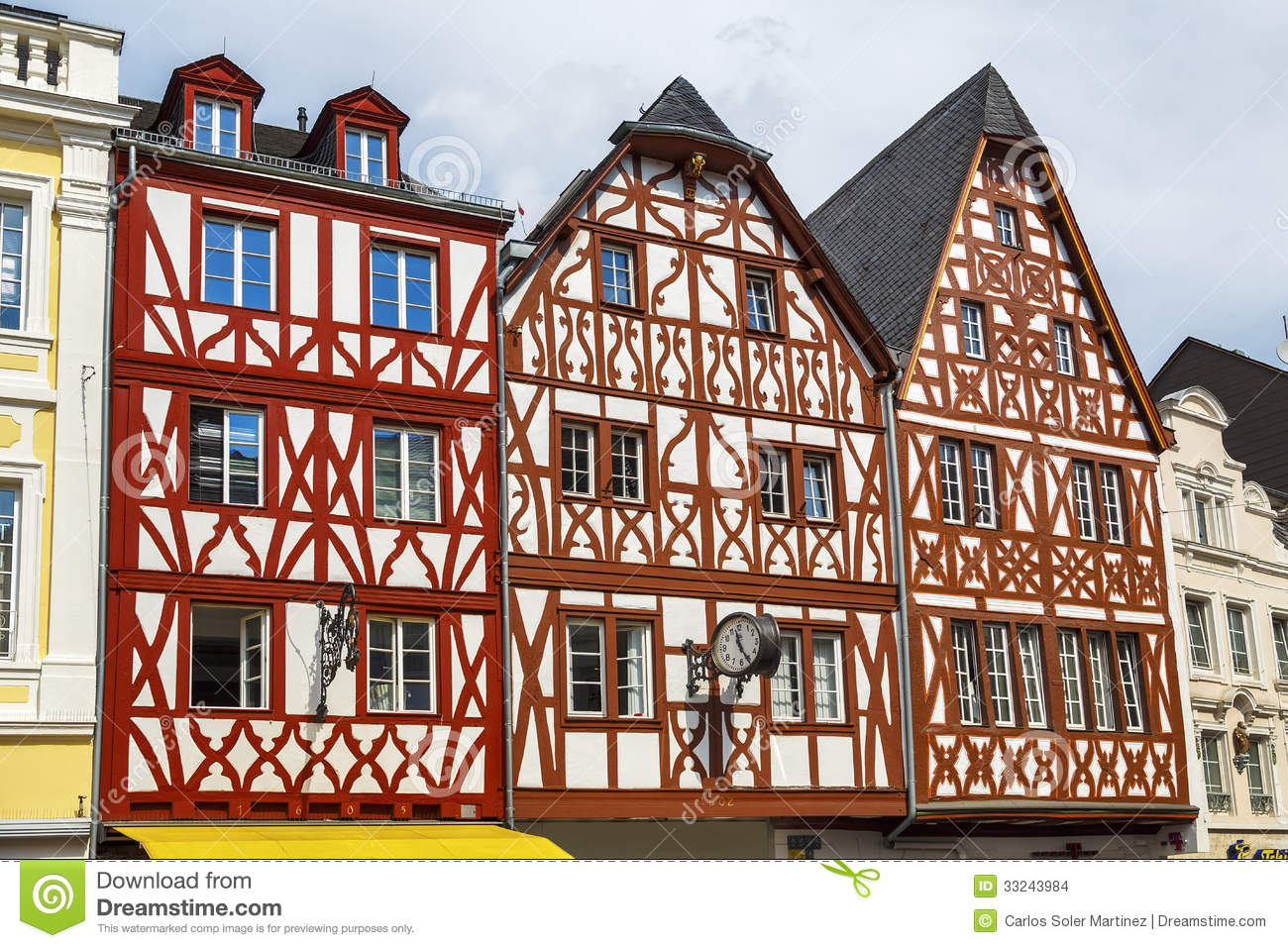 House In Trier Germany Stock Images Image 33243984