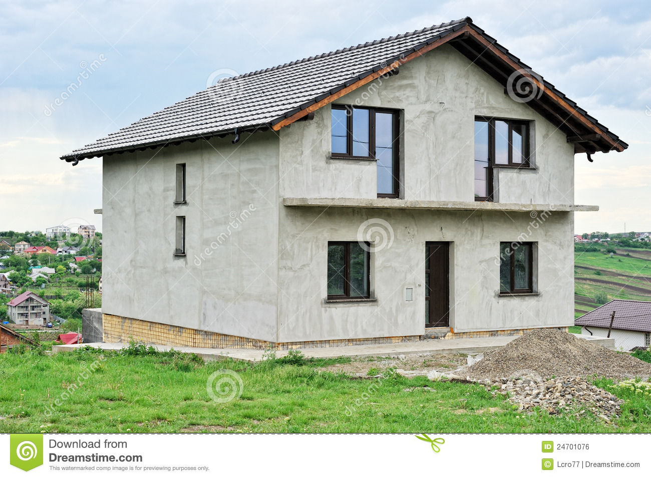 House under construction royalty free stock image image for Free home builder