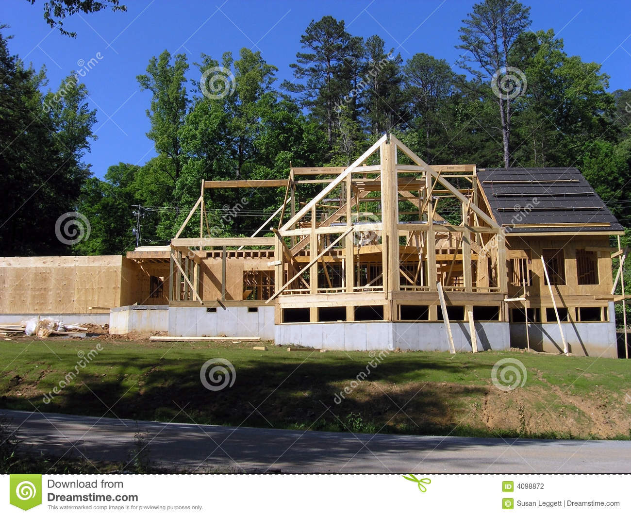 House under construction
