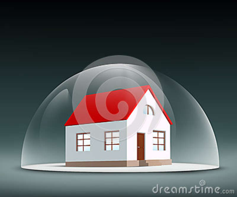 House Under The Dome Stock Illustration - Image: 50933567