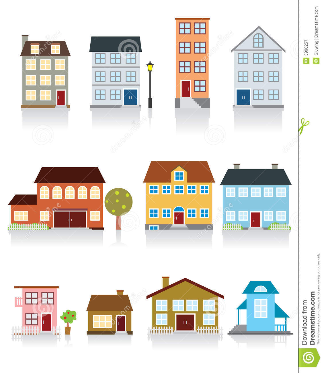 House Vector Icon stock vector  Illustration of symbol - 5990257