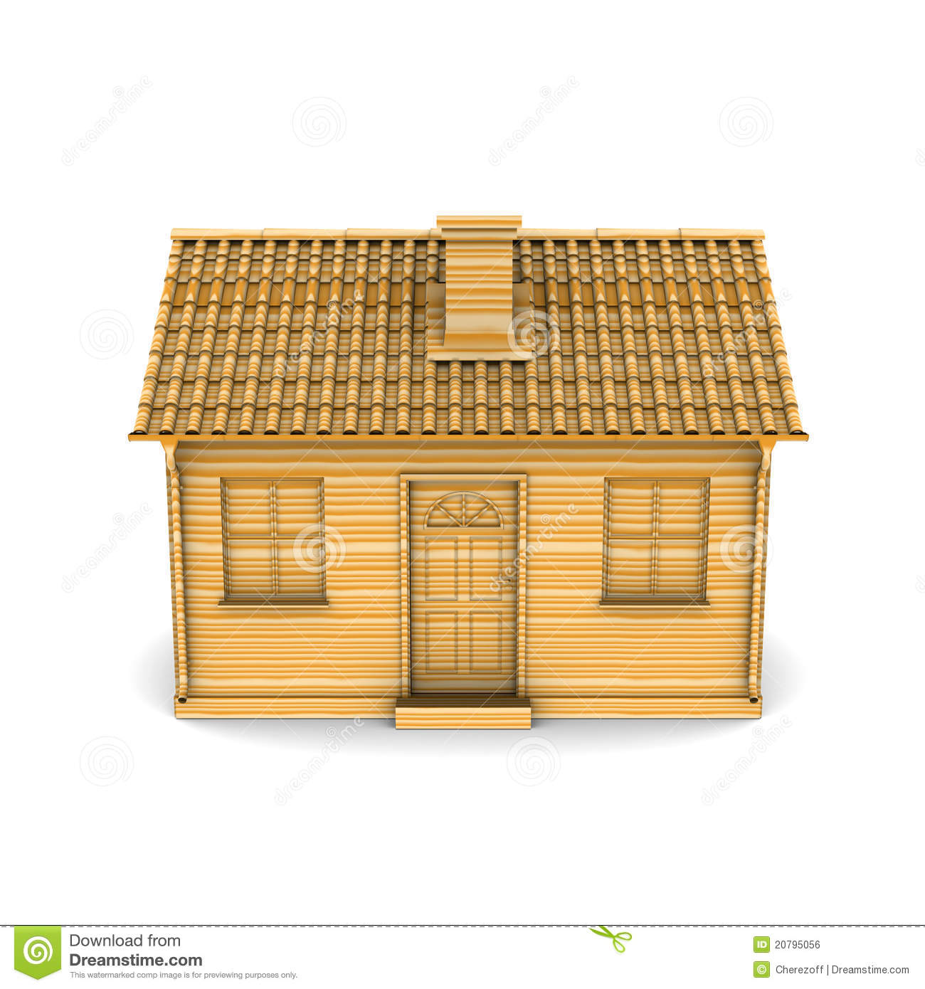 House of wood stock illustration image of sign loghouse 20795056 - Huis hout ...