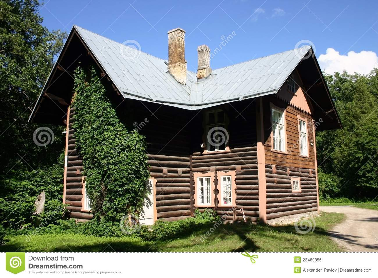 House in wood