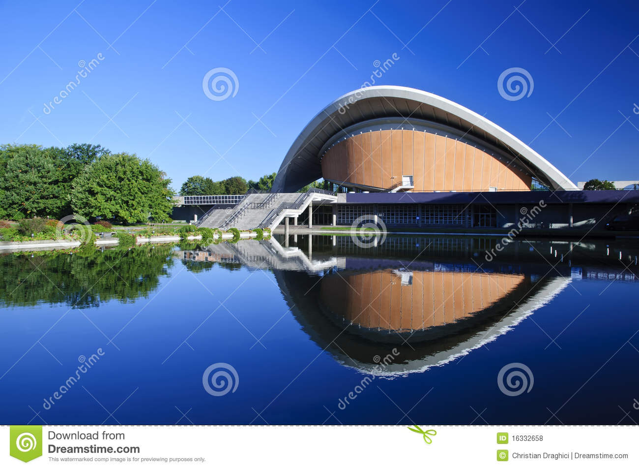 House of world cultures in Berlin