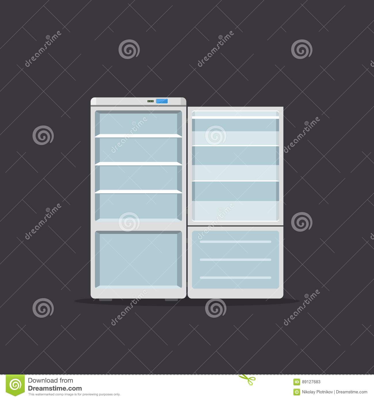 Appliance Diagram Background Wiring Services For Household Appliances Fridge Open Isolated On Dark Rh Dreamstime Com Whirlpool Parts Diagrams Pvm1790sr1ss