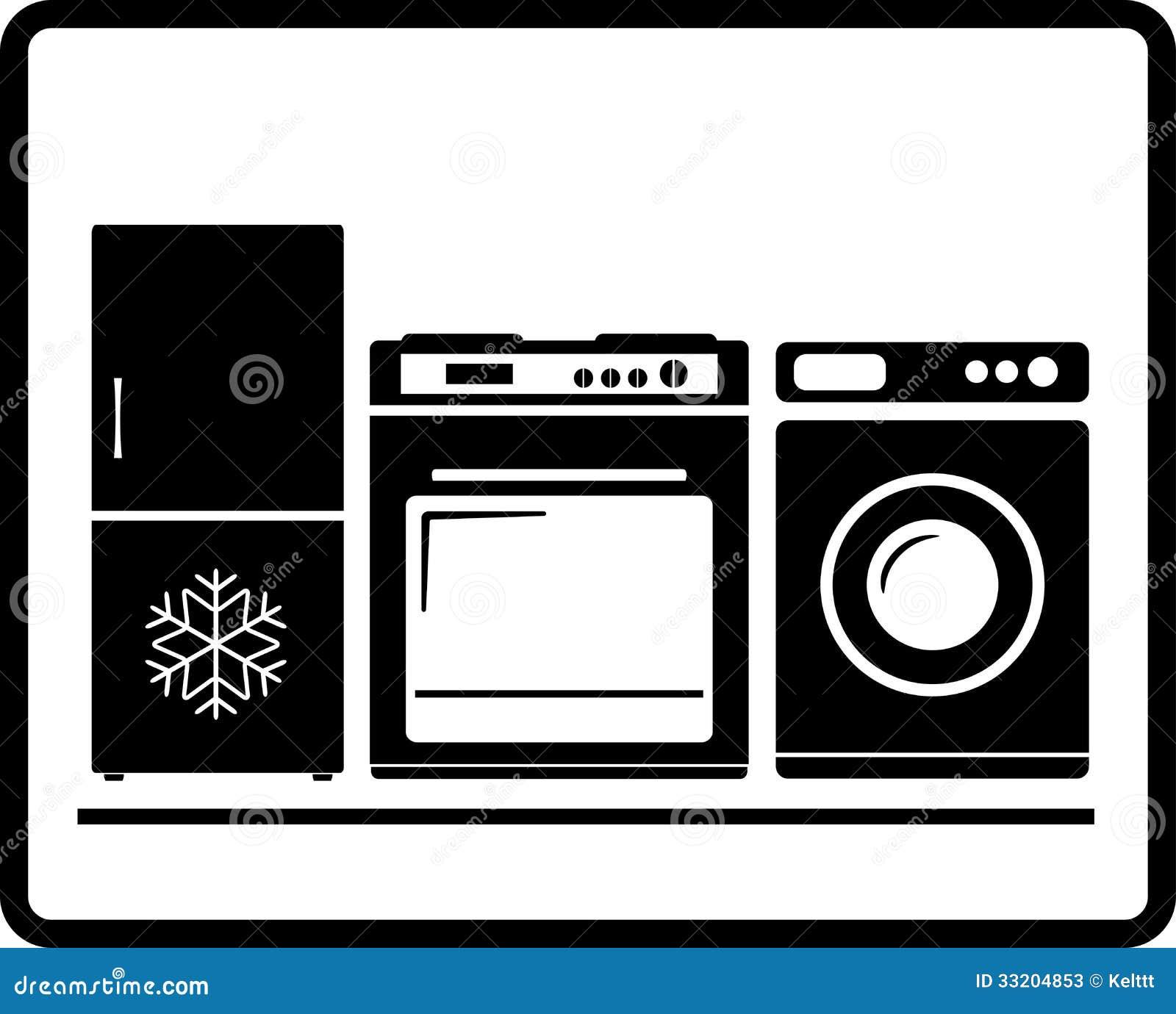 Household Appliances Gas Stove Refrigerator Wa Stock