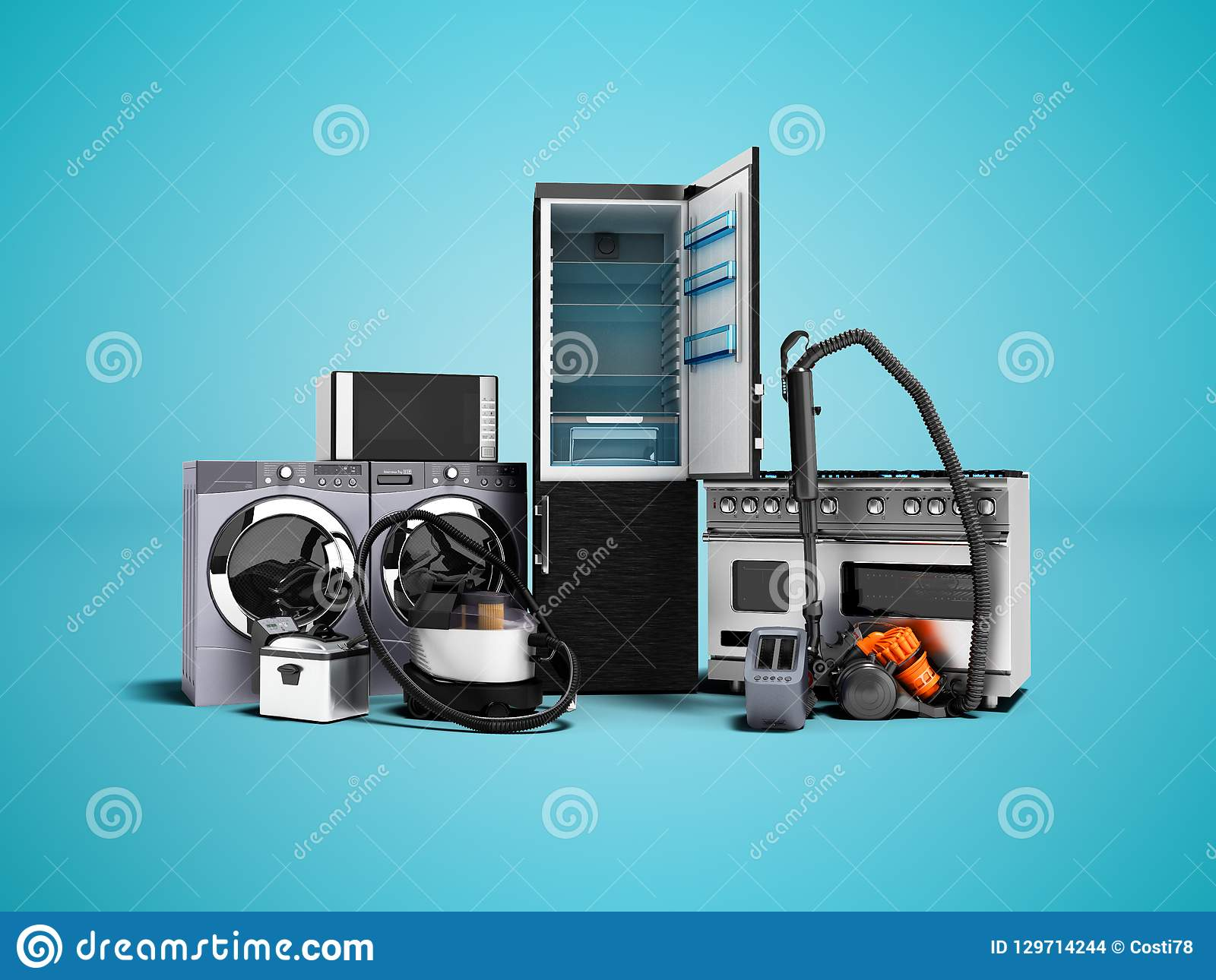 Microwave Cartoons Illustrations Amp Vector Stock Images