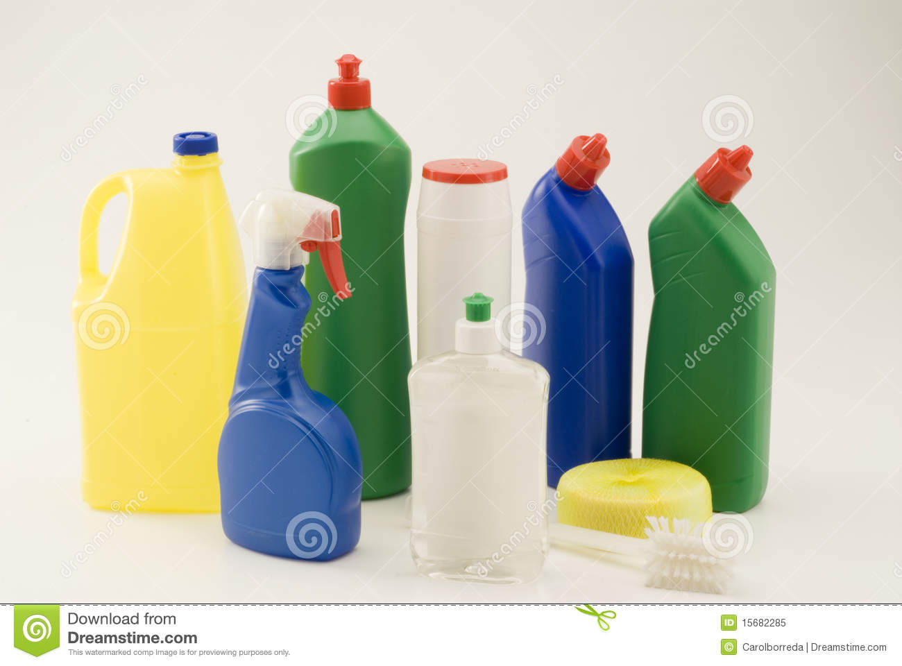 Household Cleaning Products. Royalty Free Stock Photo ...