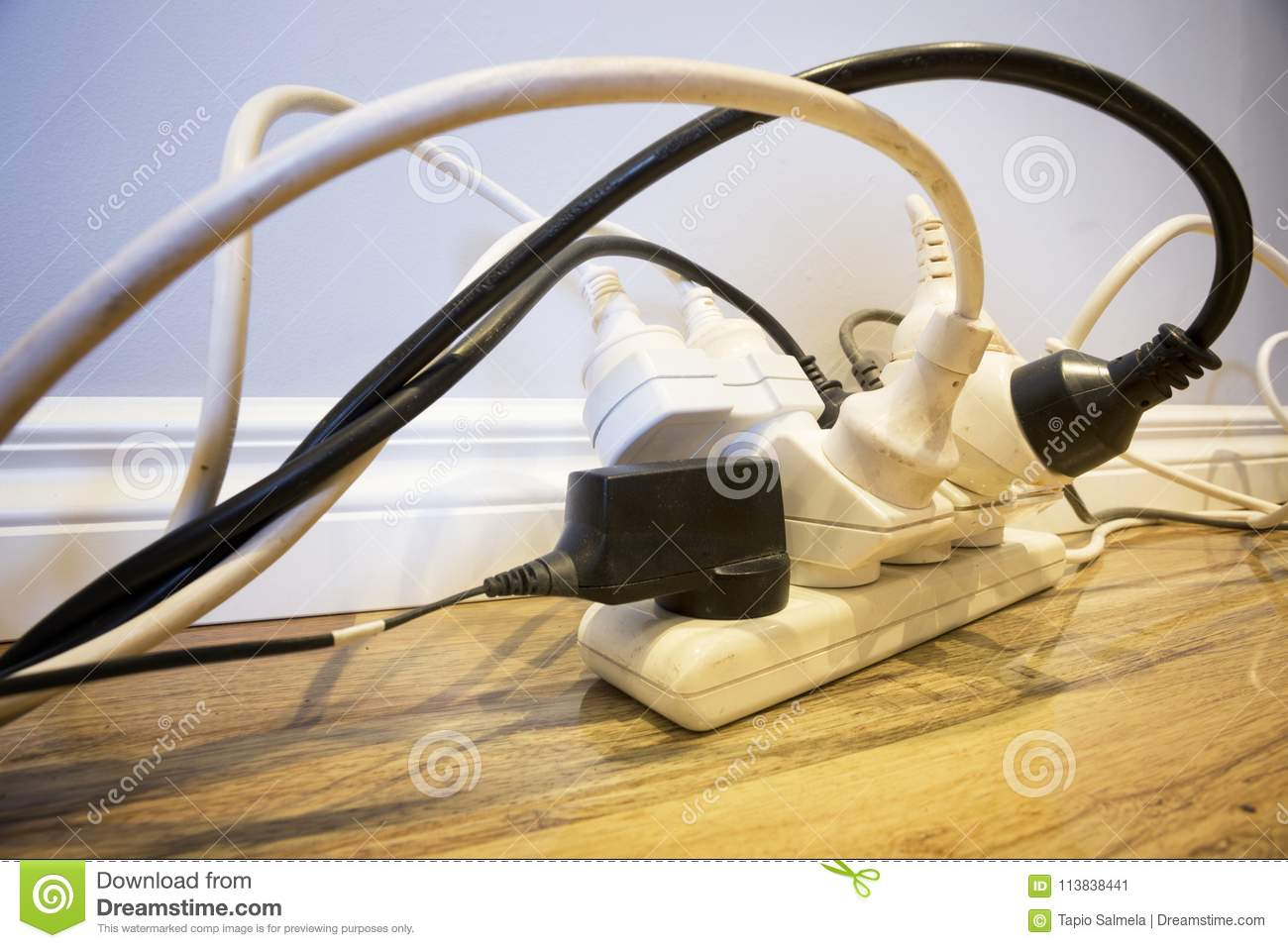 Household Electrical Safety Stock Image Image Of