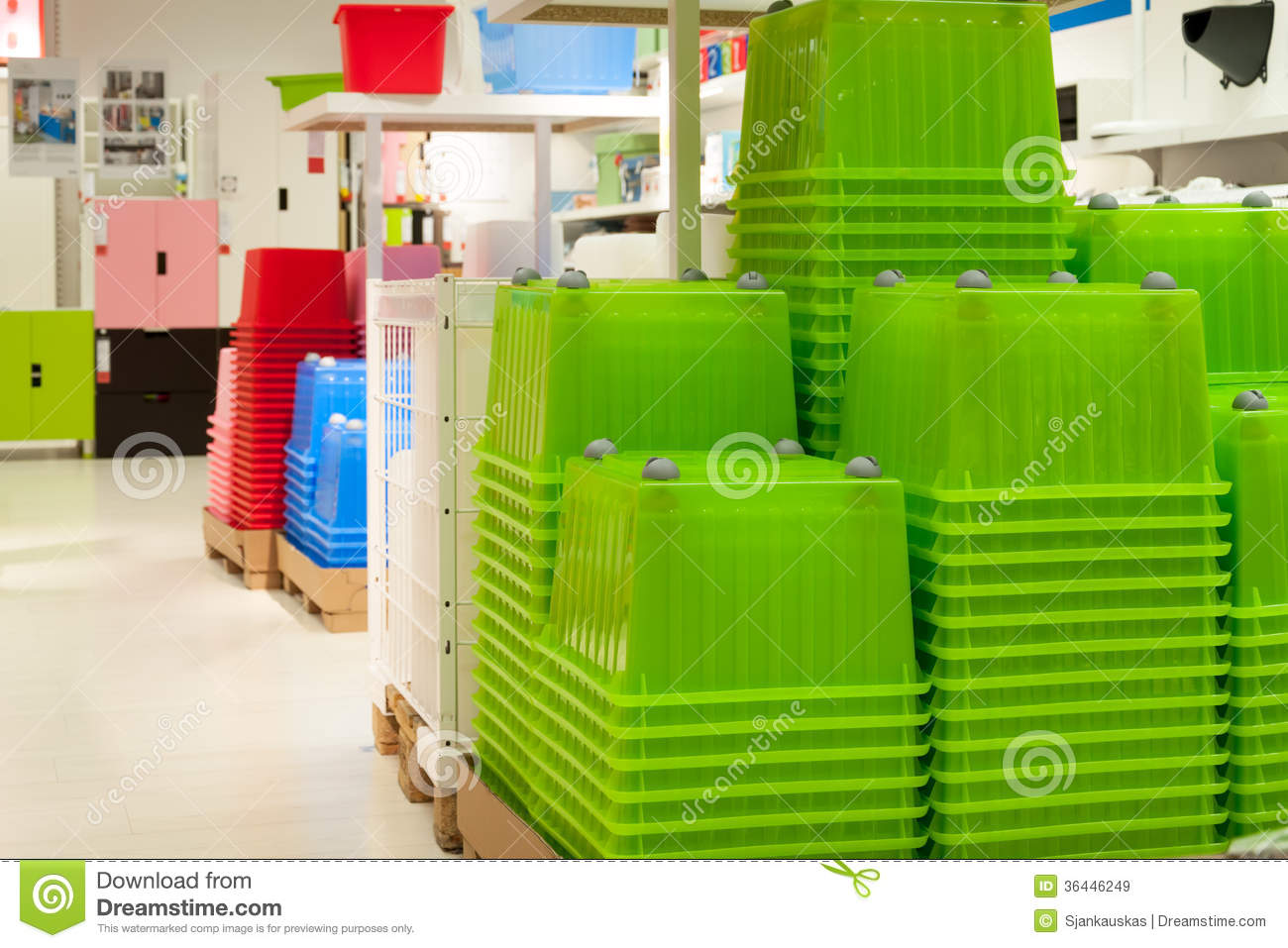 Household Goods Store Royalty Free Stock Images Image