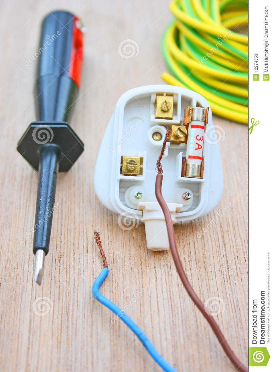 [DIAGRAM_4PO]  Household plug stock image. Image of resistance, energy - 12274053 | House Hold Wiring A Plug |  | Dreamstime.com