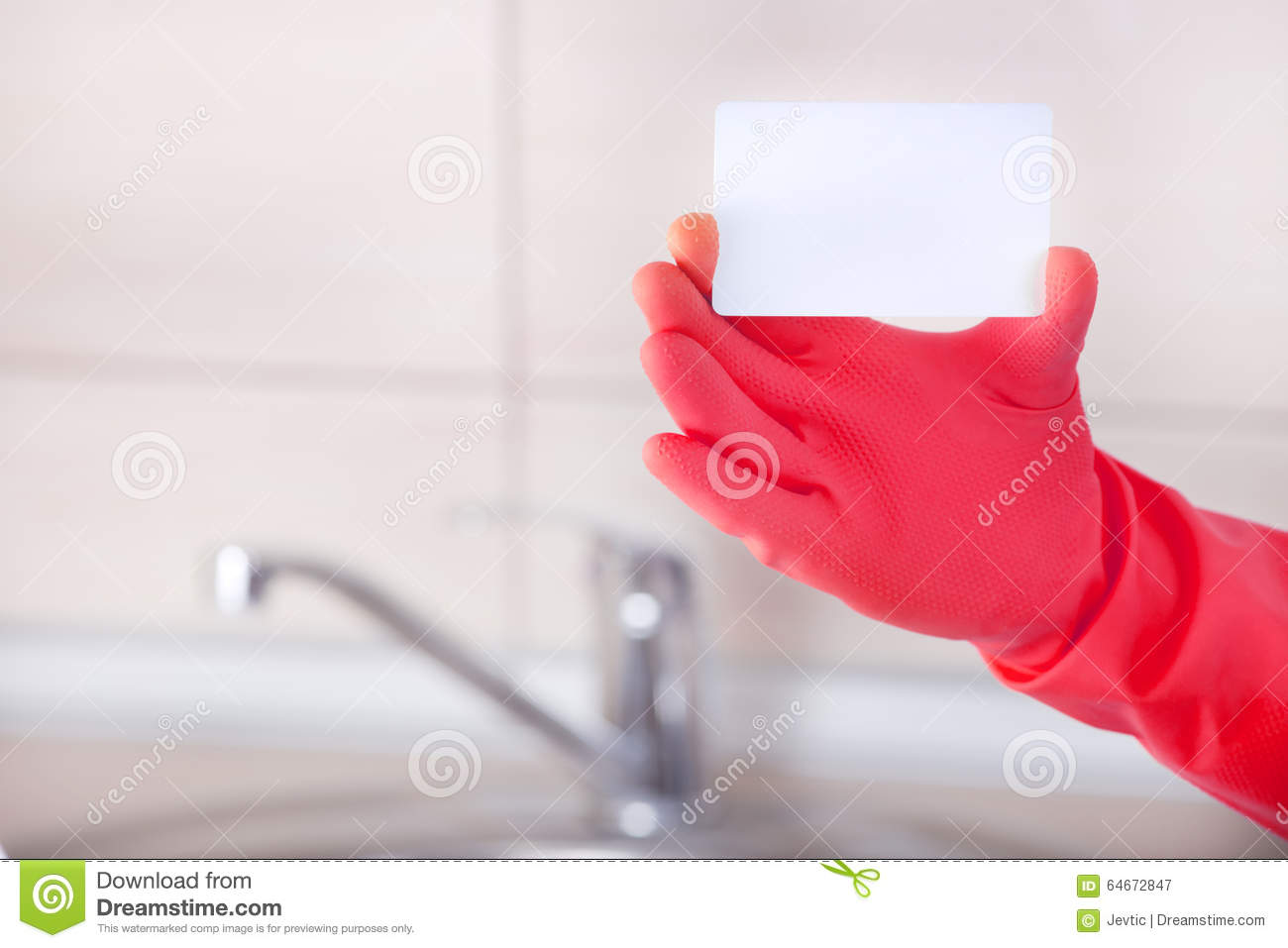 Housekeepers blank business card stock photo image 64672847 royalty free stock photo download housekeepers blank business card magicingreecefo Gallery