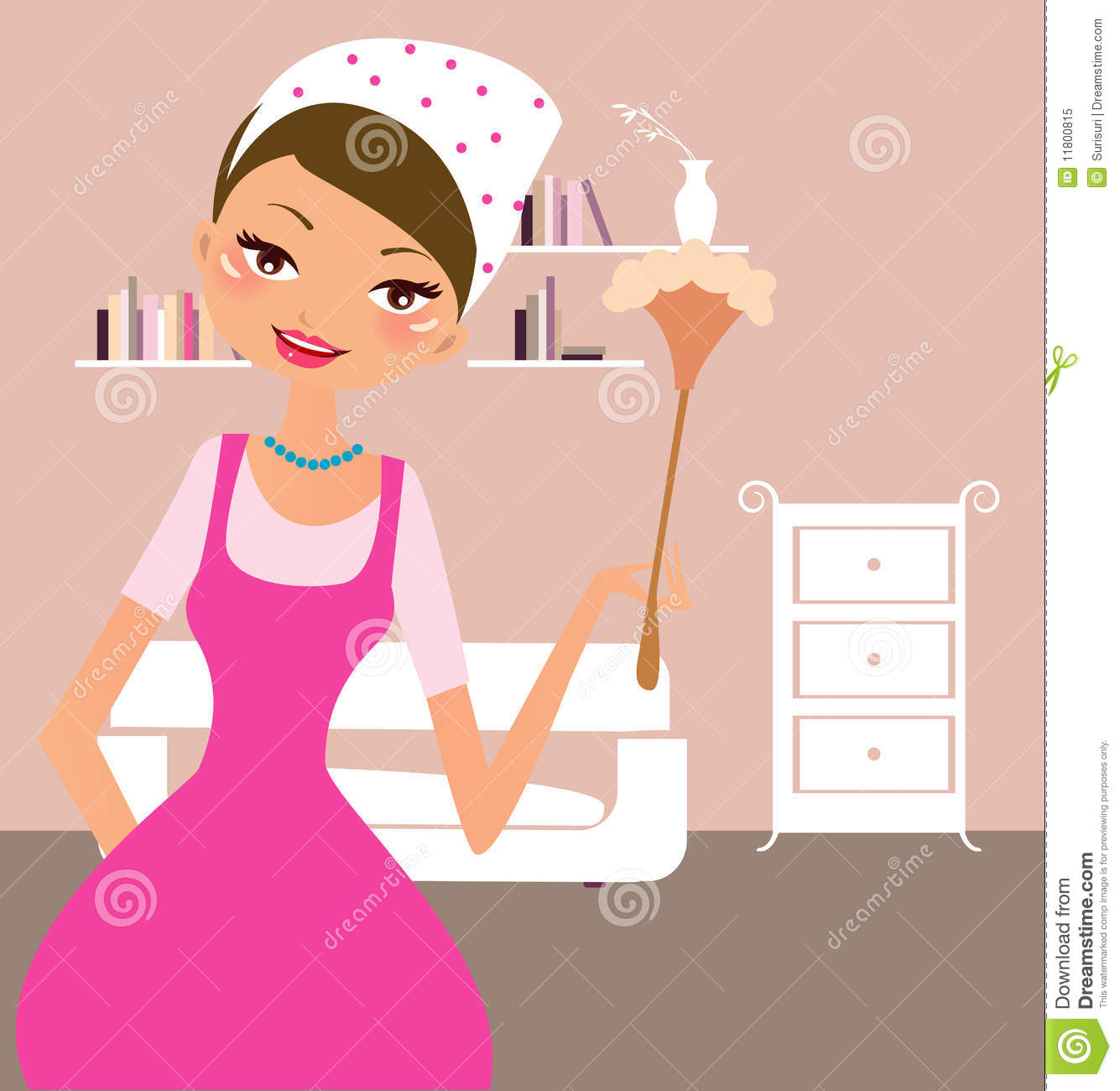 Housekeeping Royalty Free Stock Photo Image 11800815