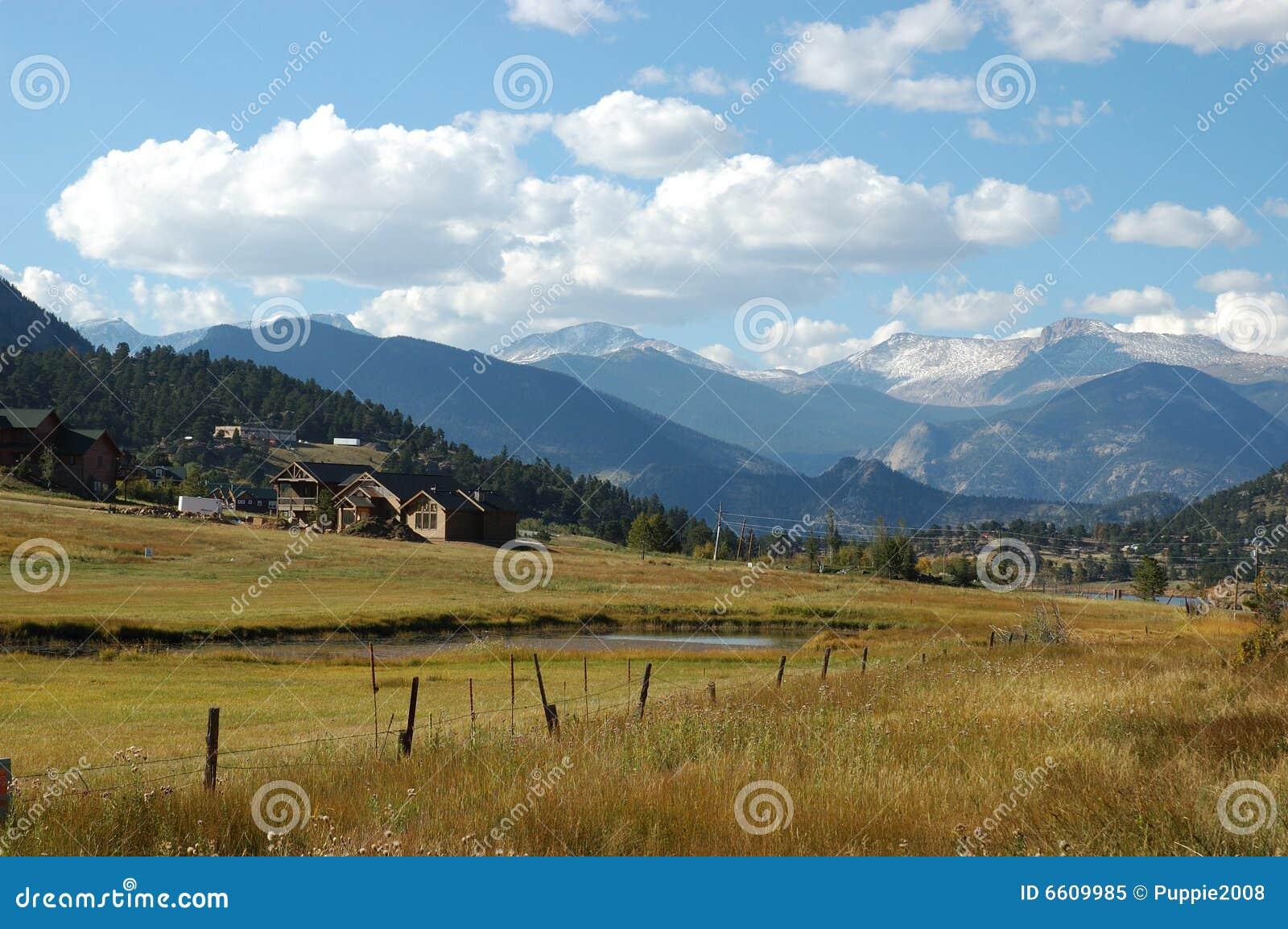 Houses around Boulder, Colorado