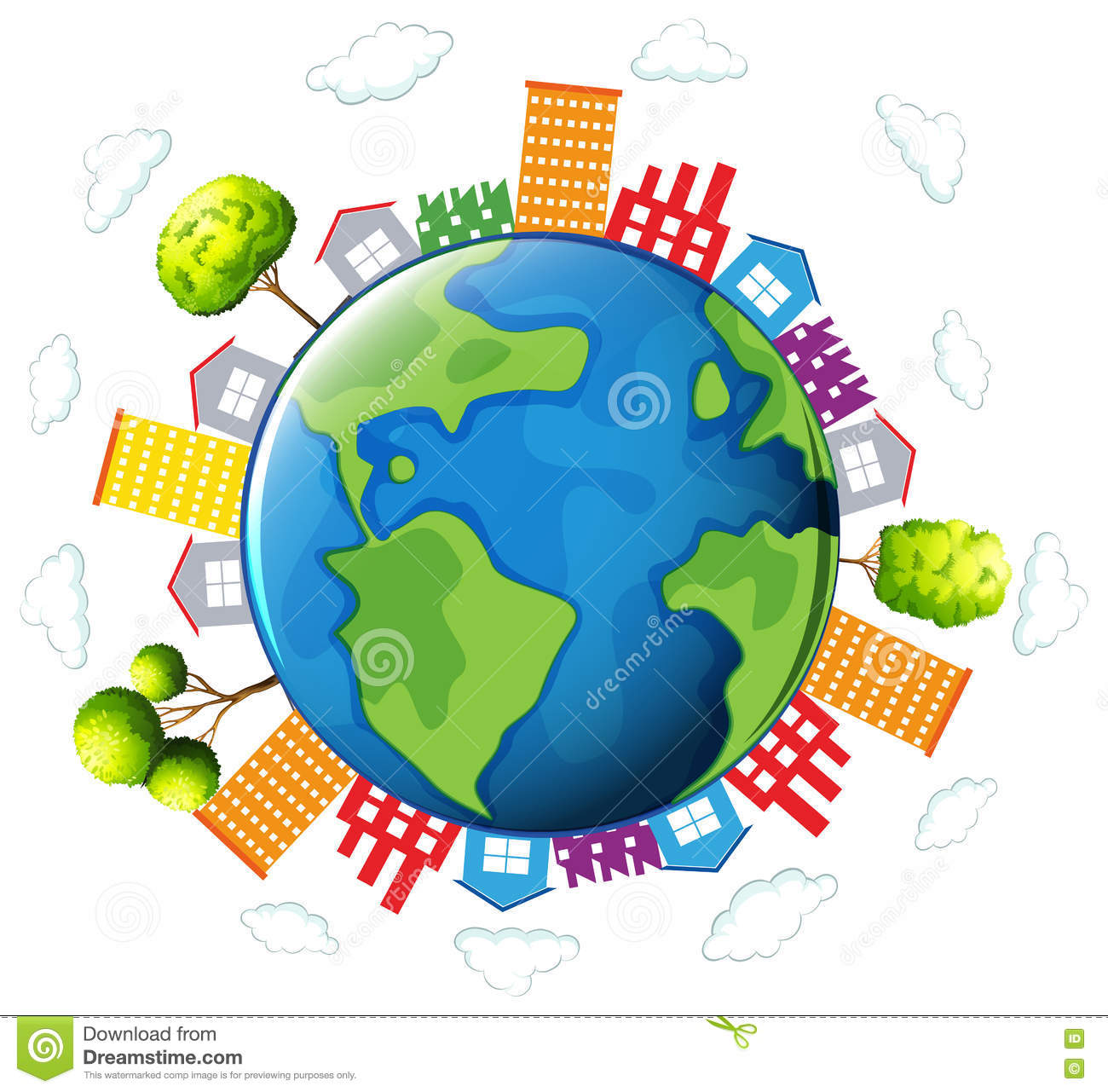 homes around the world clipart. royaltyfree vector download houses and buildings around the earth homes world clipart o