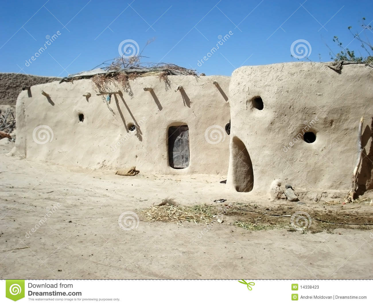 Houses In The Desert Stock Photos Image 14338423